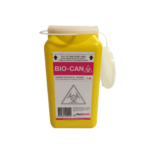 Sharps Container 1.4L Square