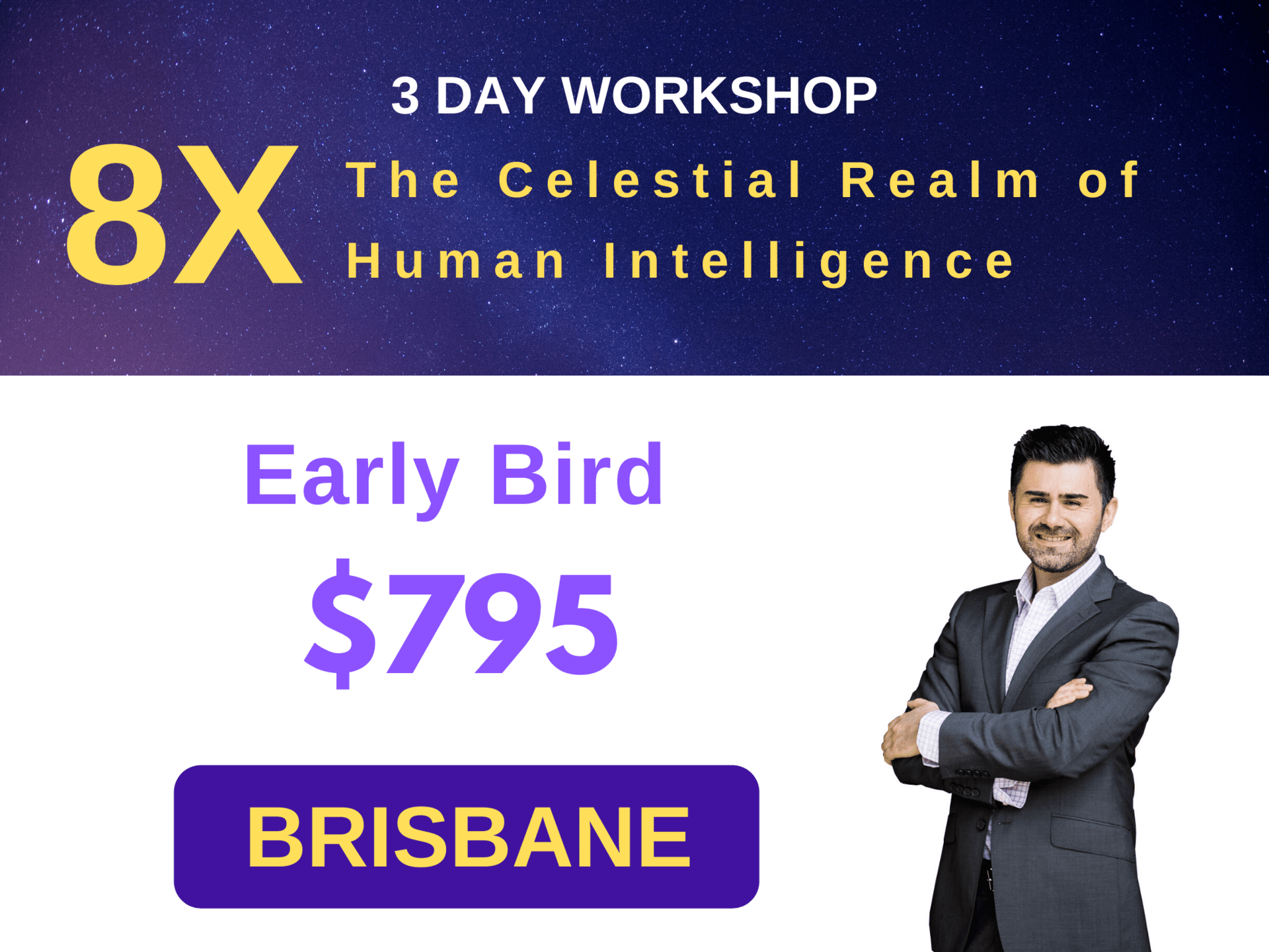 3 Day Workshop - 8X Brisbane