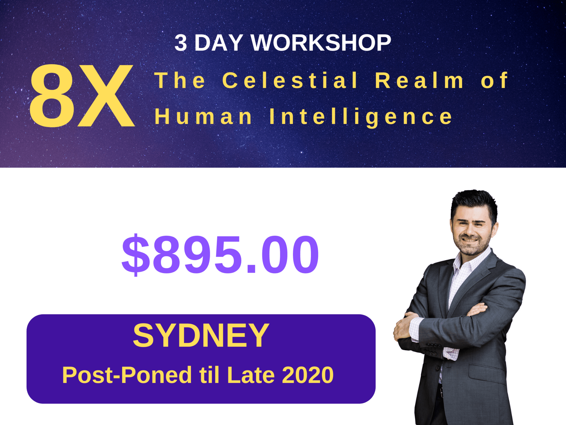 3 Day Workshop - 8X Sydney