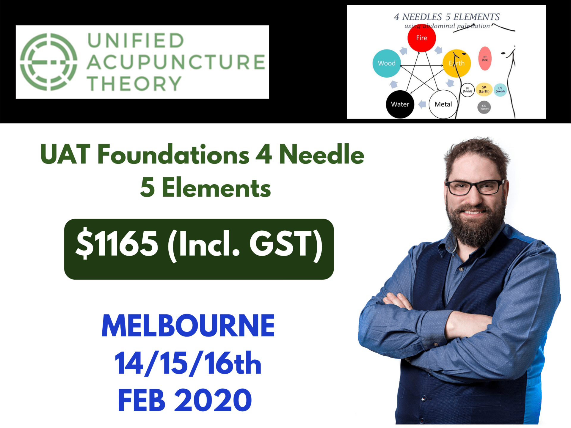 UAT Foundations 4 Needle 5 Elements - MELB