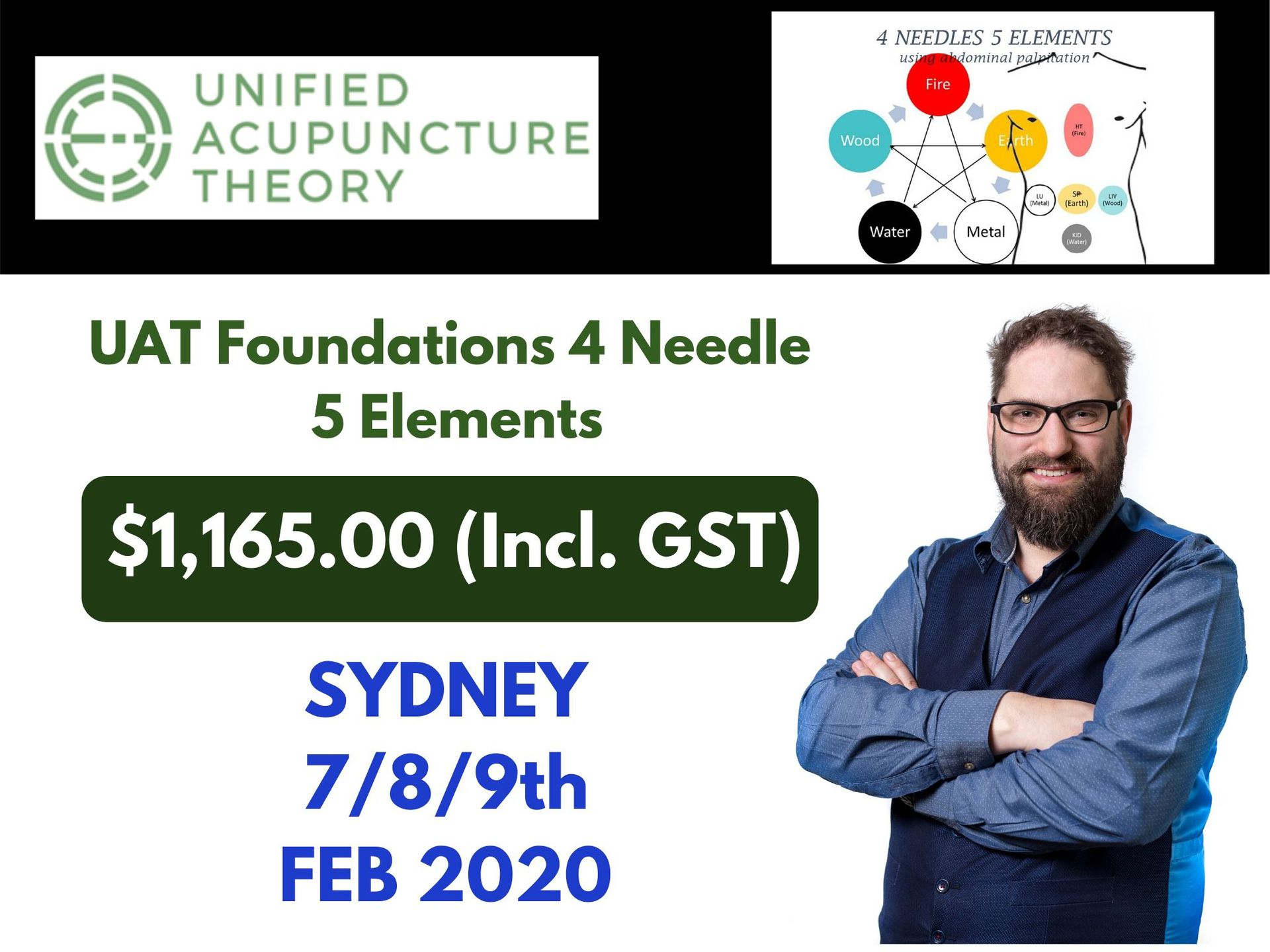 UAT Foundations 4 Needle 5 Elements - SYD