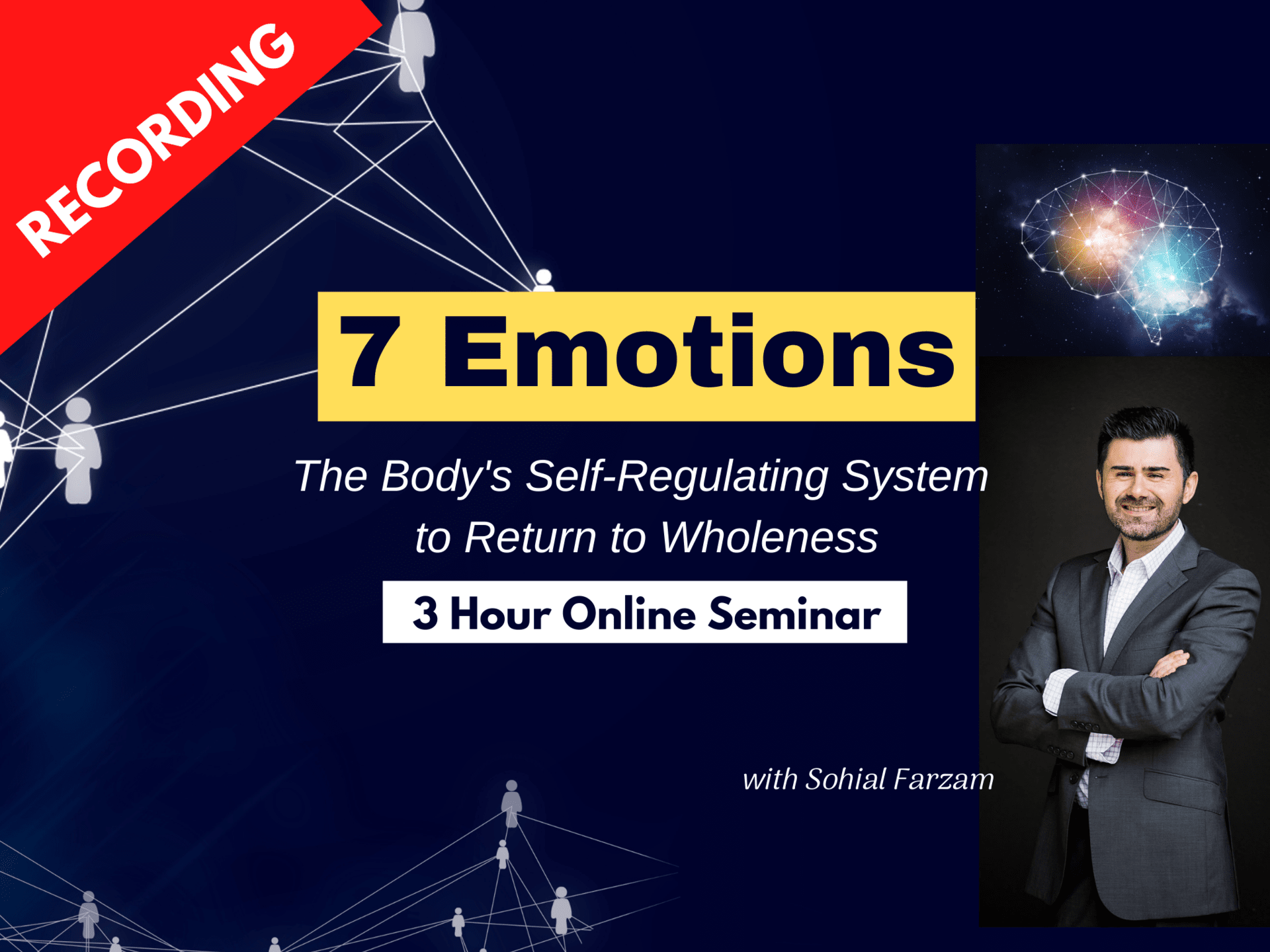 7 Emotions - 3 Hour Seminar (RECORDING)