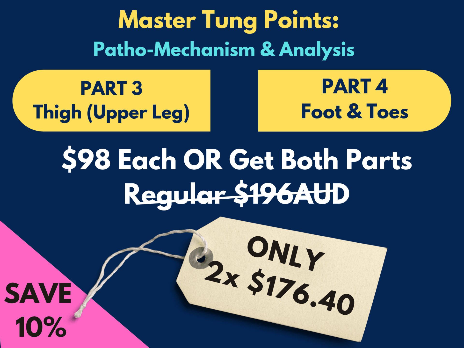 Master Tung Points - 2 Part Series SPECIAL 10% OFF